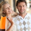 Couple shopping — Stock Photo #7930601