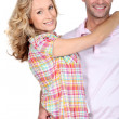 Couple on shopping spree — Stock Photo #7930638