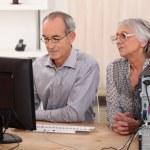 Senior couple at home — Stock Photo #7934047