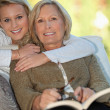 Mother and daughter — Stock Photo #7934201