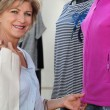 Womclothes shopping — Stock Photo #7935546
