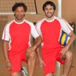 Handball players — Stock Photo #7939661