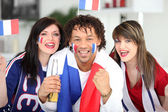 French football supports — Stock Photo