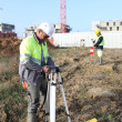 Stock Photo: Two structural surveyors