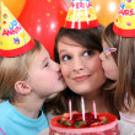 Children's party — Stock Photo #7943505