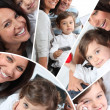 Family with child — Stock Photo #7950595