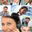 Office workers — Stock Photo #7950863