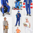 Manual occupations — Stock Photo