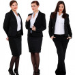 Three successful businesswomen — Stock Photo