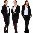 Stock Photo: Three successful businesswomen
