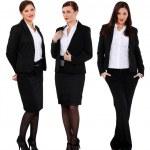 Three successful businesswomen — Stock Photo