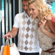 Couple shopping — Stock Photo #7952420