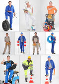 Many artisans — Stock Photo