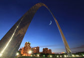 St louis arch — Stock Photo