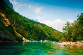 River Piva (Montenegro) — Stock Photo