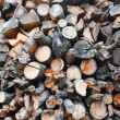 Stock Photo: Pile of pine wood