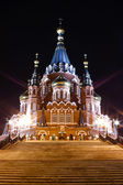 St. Michael cathedral in Izhevsk, U — Stock Photo