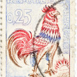 French postage stamp — Stock Photo #7847420
