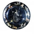 Royalty-Free Stock Photo: Souvenir plate depicting the zodiac signs