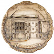 Royalty-Free Stock Photo: Souvenir plate depicting the Venice