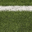 Stock Photo: AmericFootball Field Turf