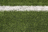 American Football Field Turf — Stock Photo