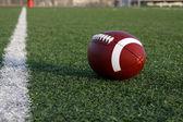 American Football near the Goal Line — Stock Photo