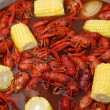 Stock Photo: Crawfish Boil