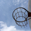 Outdoor Basketball Hoop — Stock Photo #6923590