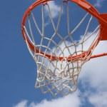 Outdoor Basketball Hoop — Stock Photo #6923764
