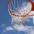 Outdoor Basketball Hoop — Stock Photo