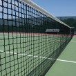 Stock Photo: Tennis Court Net