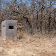 Hunters Deer Blind - Stock Photo