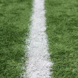 Stock Photo: AmericFootball Field Yard Line