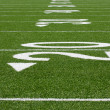 AmericFootball Field Yard Lines — Stock Photo #6926446