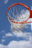 Outdoor Basketball Hoop — Stock Photo