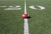 Football near the Twenty — Stock Photo