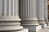 New York Supreme Court Columns — Stock Photo