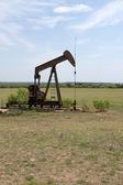 Zachodnim teksasie pompy oleju — Zdjęcie stockowe