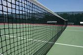 Tennis Court Net — Stock Photo