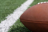 Football Close up near the Yard Line — Stockfoto