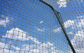Soccer Goal and Net — Stock Photo