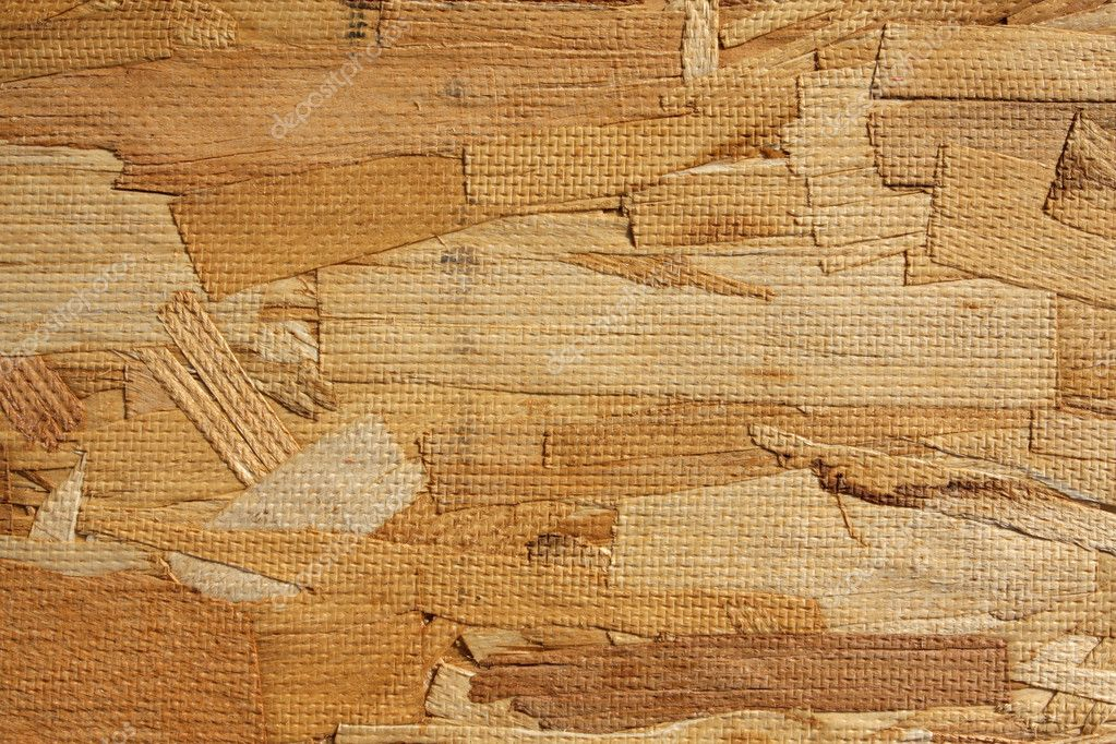 Close up of the texture of particle board construction material  Stock Photo #6925075