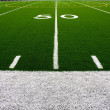 American Football Field Fifty Yard Line — Stock Photo #7269319
