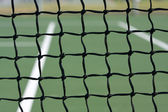 Tennis Court Net — Stockfoto