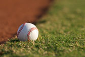 Baseball on the Field — Stock Photo