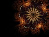 Abstracte fractal bloem — Stockfoto
