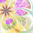 Stock Photo: Abstract fractal flower or butterfly