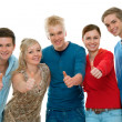 Group of high-school students — Stock Photo #6841627