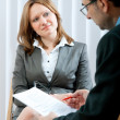 Job interview — Stock Photo